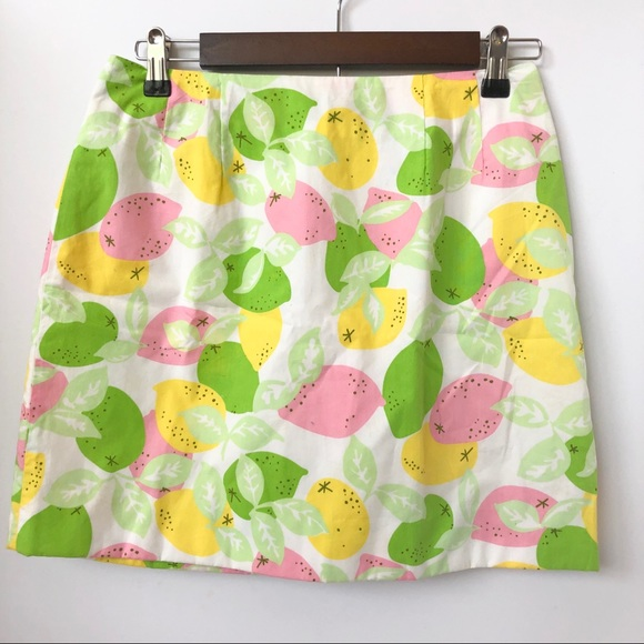 Lilly Pulitzer Dresses & Skirts - 🎉HP!🎉 Lilly Pulitzer Citrus Print Skirt • Size 4
